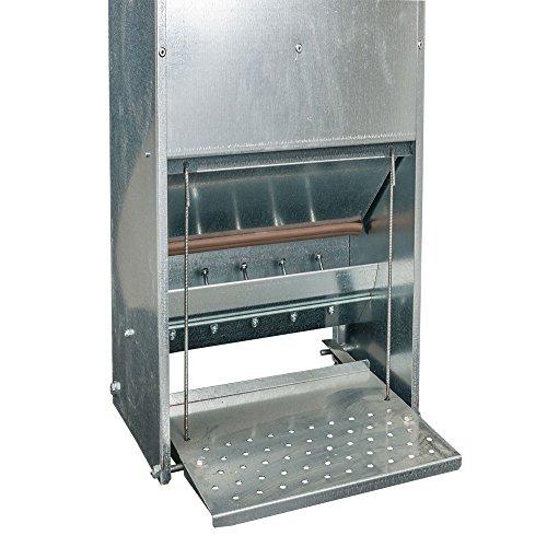 Futterautomat mit Trittklappe 10 kg - 4