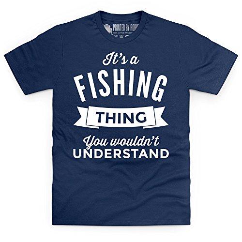 It's A Fishing Thing T-Shirt, Herren Dunkelblau