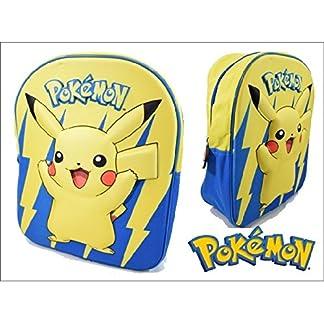Pokémon – Pokemon 1420458. Mochila Junior 31X25X5cm.