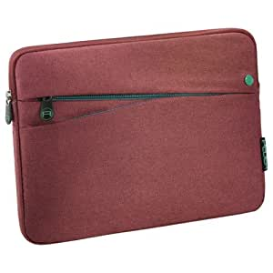PEDEA Fashion Tablet Case Sleeve Bag 10.1 inch with pockets for accessories, red