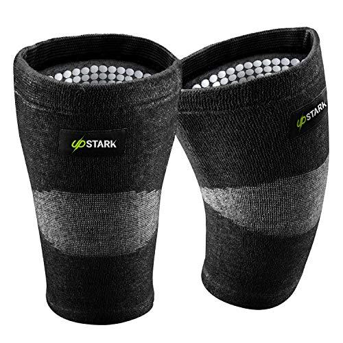 UPSTARK Kniebandage für Damen und Männer - Unterstützung beim Wandern & Sport wie Laufen, Joggen, Fitness - Kniestütze für Meniskus- & Knieschmerzen (XXL)