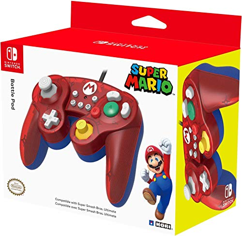 Hori - Battle Pad Mario Nintendo Switch