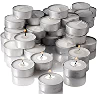 Tiru Unscented Tealight Candles Set Of 50