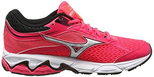 Mizuno Damen Wave Equate (W) Laufschuhe Pink (Diva Pink/silver/dark Shadow)