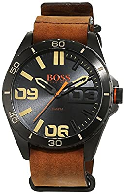 Hugo Boss Orange 1513316 - Reloj analógico de pulsera para hombre, correa de piel de BOSS Orange