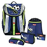 Top Soccer FLEXLINE Schulranzen-Set 5 TLG. Step by Step Hama Fußball Football Soccer