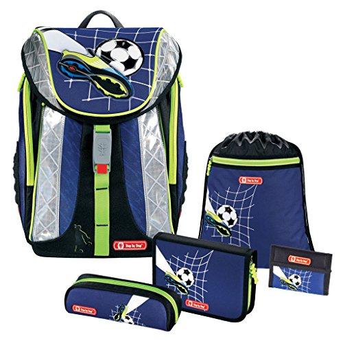 Top Soccer FLEXLINE Schulranzen-Set 5 TLG. Step by Step Hama Fußball Football Soccer