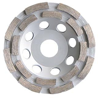 Diamant Topfschleifer Schleiftopf Ø 115 mm für Beton, Estrich und allg. Baumaterialien Schleifteller Schleifscheibe