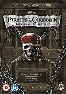 Pirates of the Caribbean 1-4 Box Set [DVD] (B0058HCQMU) | Amazon price tracker / tracking, Amazon price history charts, Amazon price watches, Amazon price drop alerts
