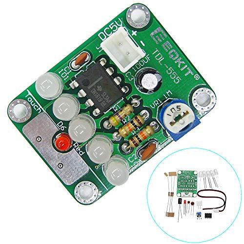 ILS - 3 Stücke DIY DC 5V TDL-555 Touch-Delay-LED-Licht-Kit Dämmstoffe & Elements DIY LED-Blitz Kit - Tdl-modul