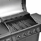 Clictrade Taino® Pro Set Gasgrill + Zubehör Grillplatte BBQ TÜV 4 Edelstahl Brenner 1 Seitenkocher - 2