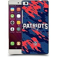 Ufficiale NFL Camou New England Patriots Logo Cover Retro Rigida per Huawei P8