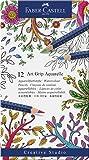 Faber-Castell Aquarell-Stifte Art Grip | 12er Metalletui New Design