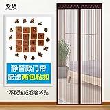 ZhongGXZ Vorhang Klett - verschlüsselung im Sommer die Tür und Fenster vorhänge im schlafzimmer-A-90x220cm(35x87inch)