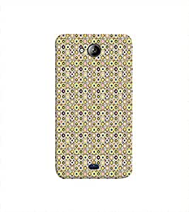 Print Masti Designer Back Case Cover for Micromax Unite 3 Q372 :: Micromax Q372 Unite 3 (Geometrical Wallpaper Fantastic )