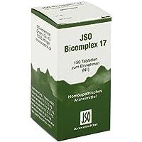 Jso Bicomplex Heilmittel Nummer 17 150 stk preisvergleich bei billige-tabletten.eu