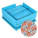 Capsule Manuale Macchina di riempimento della macchina Opercolatrice 100 fori di riempimento della capsula Vitamine (Capsule taglia #0)