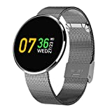 MRLIFY Smartwatch CF006H, Bluetooth Smartwatch OLED Smartwatch Wasserdichte Blutdruck Pulsmesser für iOS Android Phone
