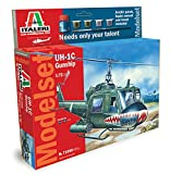 Italeri 71050 - Model Set : Uh-1c Gunship Model Kit  Scala 1:72