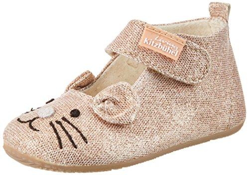 Living Kitzbühel Ballerina Katze, chaussons d'intérieur bébé fille Gold (IMPERIAL)