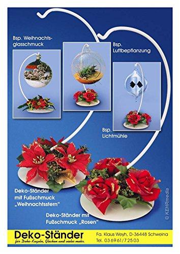 Klaus Weyh Metallwaren Designprodukte // Entwicklung Herstellung Verkauf Blumenkastenhalterung mit Gef/älleausgleich braun
