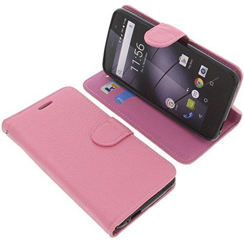 foto-kontor Tasche für Gigaset GS170 GS160 / GS170 Book Style pink Schutz Hülle Buch
