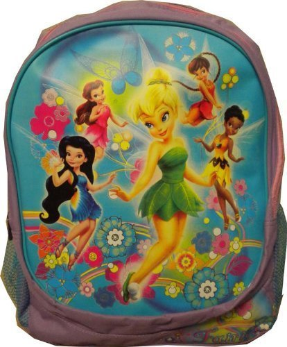 c7753db0b3c Disney Fairies - Tinkerbell and Friends Large School Backpack (Purple) by  GDC