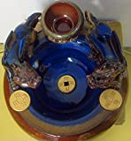 Handmade Ceramic Art - Feng Shui PI-Xiu Lucky Brunnen Fountain