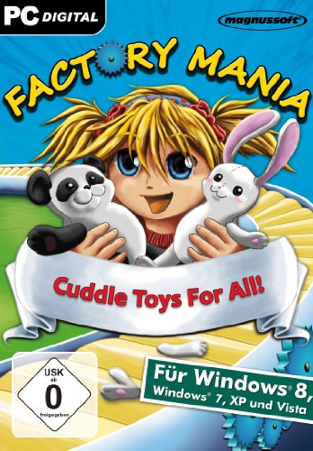 Factory Mania Cuddle Toys For All!