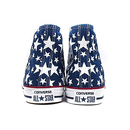 Converse Chuck Taylor All Star High MIDNIGHT HOUR WHITE STARS 'Fresh Colors' Limited Edition 147118C UNISEX Blau