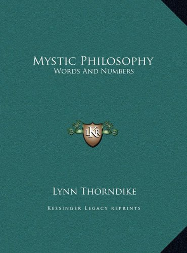 Mystic Philosophy: Words and Numbers