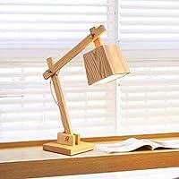 ZYCkeji Zart Tischlampe Nordic Schlafzimmer Hochzeit Dekorative Lichter Wohnzimmer Studie Schreibtischlampe Holz... preisvergleich bei billige-tabletten.eu