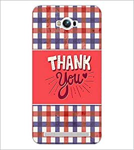 PrintDhaba Quote D-3694 Back Case Cover for ASUS ZENFONE MAX ZC550KL (Multi-Coloured)