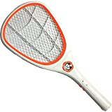 Jaz Deals Rechargeable Mosquito Flies Killer Bat With Built In Torch With Hanging Rope