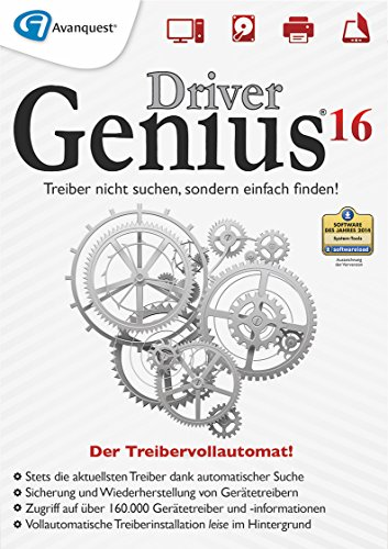 Driver Genius 16 - Der Treibervollautomat für Windows 10, Windows 8, Windows 7, Windows Vista, Windows XP [Download] - Löschen Festplatte