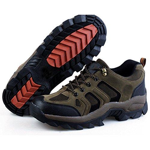 Gli Uomini Comodi Traspirante Scarpe Da Trekking All'aria Aperta Multi-formato Multicolore Brown