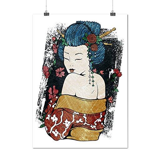 japan-woman-beauty-geisha-grace-matte-glossy-poster-a3-42cm-x-30cm-wellcoda