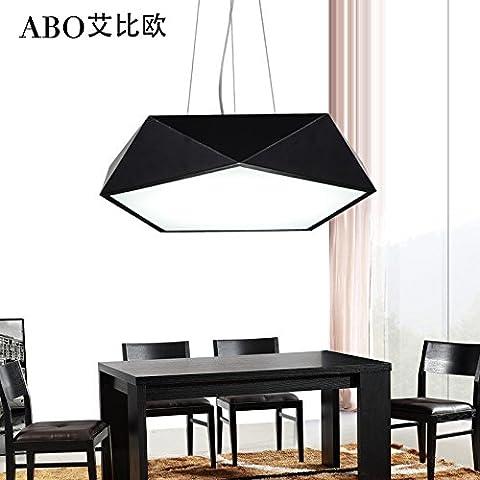 L'illuminazione moderno e minimalista geometria LED lampadario