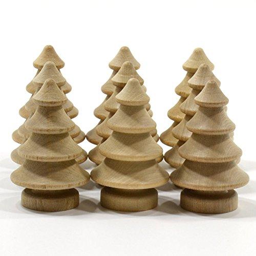 TianranRT Primär Farbe Aus Holz Ornamente 1 Satz 10Pcs Aus Holz Puppen DIY Kunsthandwerk Kuchen Topper Kinder Gedruckt Hochzeit Dekoration (F)