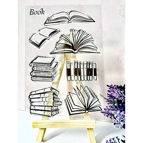 Xurgm Buch DIY Silikon Transparent Stempel Cling Seal Sammelalbum Prägung Album Decor -