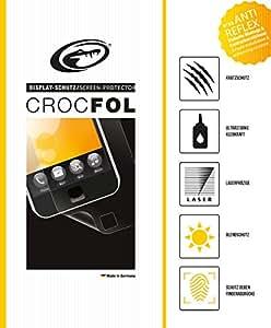 CROCFOL ANTIREFLEX 5K HD Schutzfolie für das Nokia N97 mini. Entspiegelnd (ANTI-GLARE) und Schutz gegen Fingerabdrücke (ANTI-FINGERPRINT). 3D Touch Folie für das Original Nokia N97 mini. Hergestellt in Deutschland.