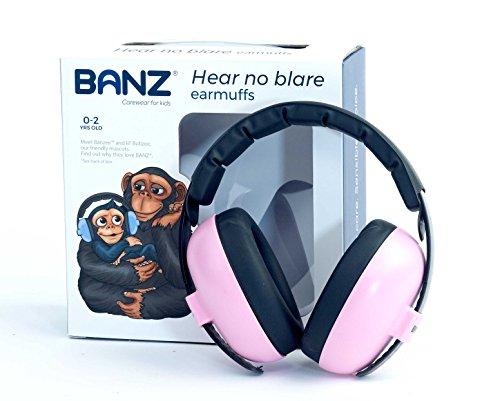 Banz Bubzee Baby Ohrenschützer, Rosa -