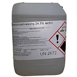 Salmiakgeist Ammoniak-Lösung 24,5 % - technisch -10 Liter