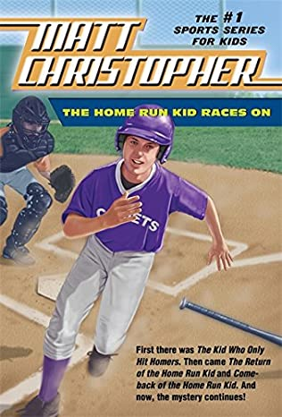 book cover of The Home Run Kid Races On