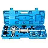 FreeTec Extractor de cojinetes y cubos de ruedas, bujes y lunas, herramientas con martillo deslizante