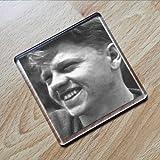 Seasons MICKEY ROONEY - Original Art Coaster #js002
