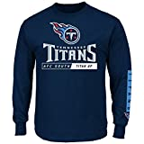 Tennessee Titans Majestic NFL Primary Receiver 2 Long Sleeve Men's T-Shirt
