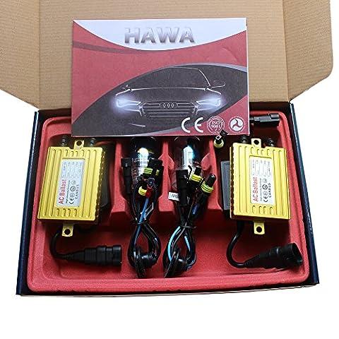 Generic H7 Canbus HID Conversion Kit 4300K AC 35W Error Free Metal Based Bulb