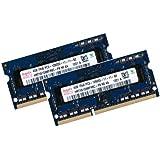 SK HYNIX 2X 4 GB (8 GB) DDR3 SO-DIMM PC3-12800 1600 mhz