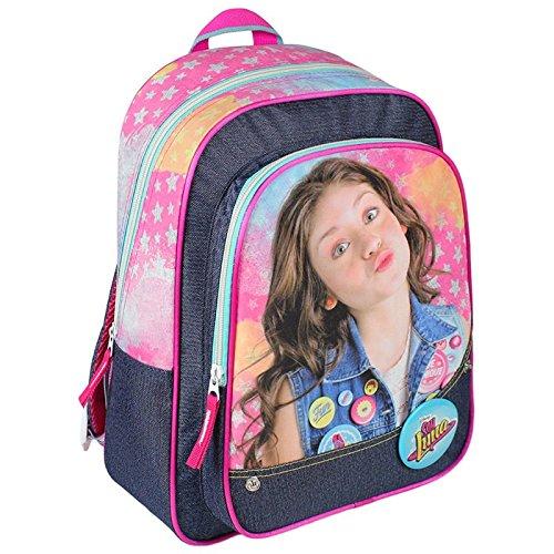 Imagen de soy luna sac à dos 34cm poche frontale  infantil, 34 cm, rosa rose